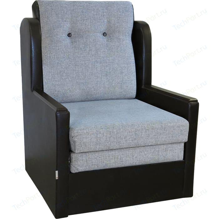 Кресло-кровать Шарм-Дизайн Классика Д шенилл серый кресло шарм дизайн классика д шенилл светло коричневый