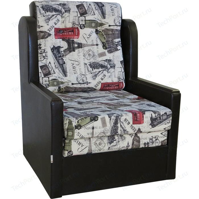 Кресло-кровать Шарм-Дизайн Классика Д велюр париж