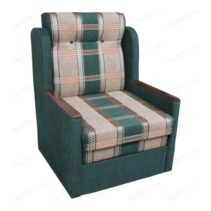 Кресло-кровать Шарм-Дизайн Классика Д шенилл/зеленый кресло шарм дизайн классика д шенилл коричневый