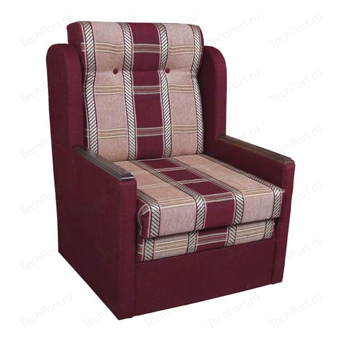 Кресло-кровать Шарм-Дизайн Классика Д шенилл/бордовый кресло шарм дизайн классика д шенилл коричневый