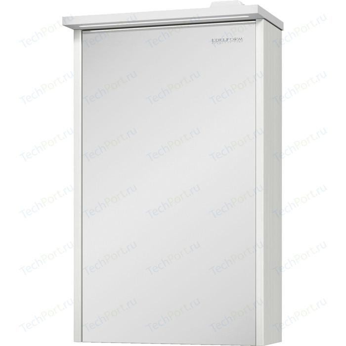Зеркальный шкаф Edelform Марино 42,2x68,1 выбеленный дуб (2-793-48-S)