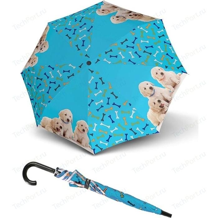 Зонт DOPPLER детский, трость, полуавтомат, 72757D зонт мужской doppler цвет серый 74667bfg