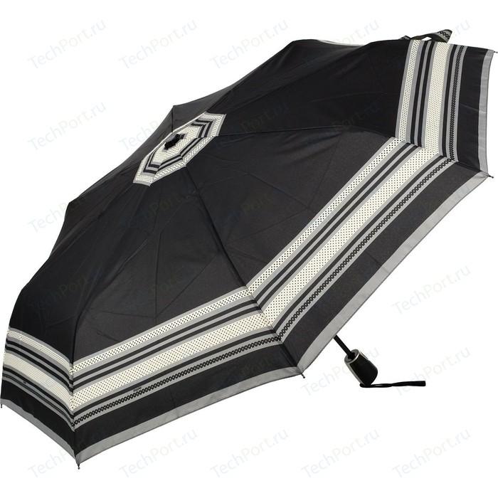 Зонт DOPPLER женский, 3 сложения, полный автомат, 7441465G26 зонт мужской doppler цвет серый 74667bfg
