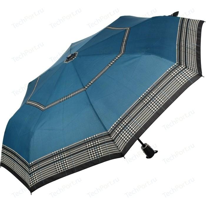 Зонт DOPPLER женский, 3 сложения, полный автомат, 7441465G2607 зонт мужской doppler цвет серый 74667bfg