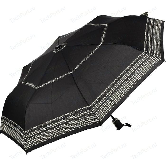 Зонт DOPPLER женский, 3 сложения, полный автомат, 7441465G2608 зонт мужской doppler цвет серый 74667bfg