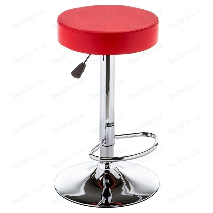 Барный стул Woodville Logo красный