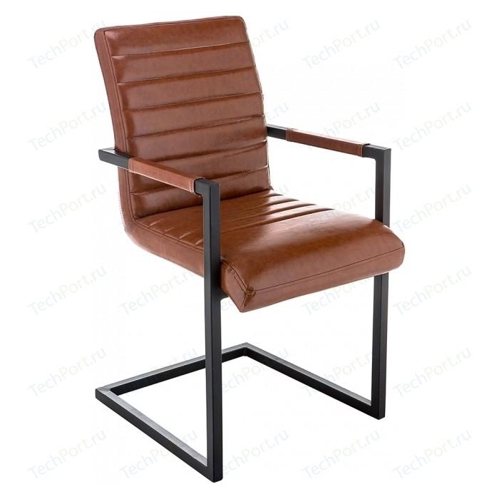Кресло Woodville Mix коричневое