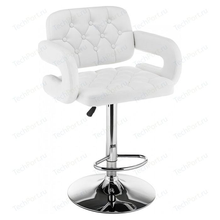 Барный стул Woodville Shiny белый