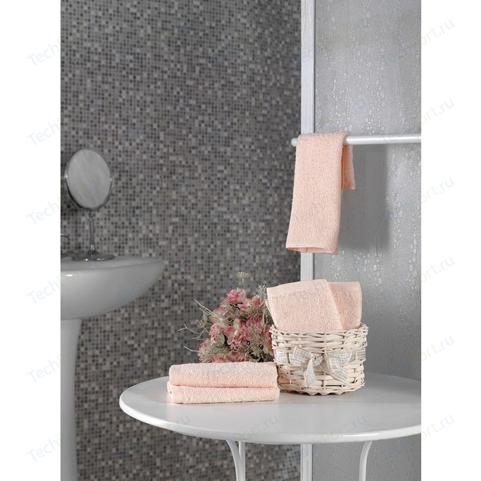 Набор кухонных полотенец 5 штук Karna Twist (30X30) (5115/CHAR006) Абрикосовый