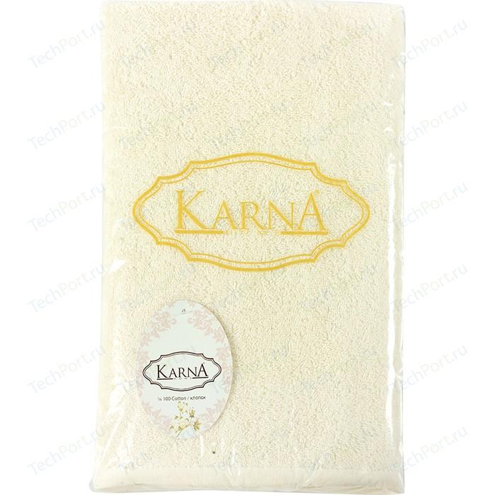 Полотенце Karna Efor (70X140) (3164/CHAR005) Голубой