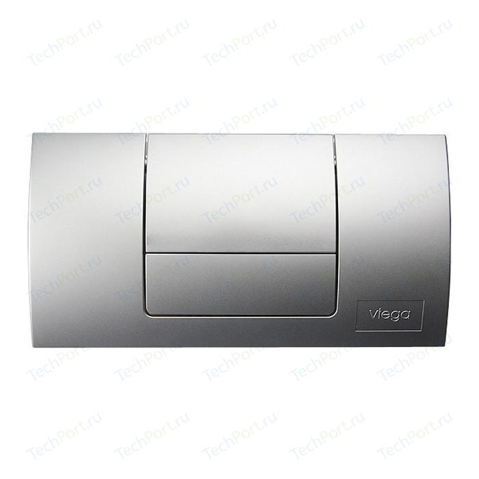 Кнопка смыва Viega Standard 8180.1 матовый хром (449032)