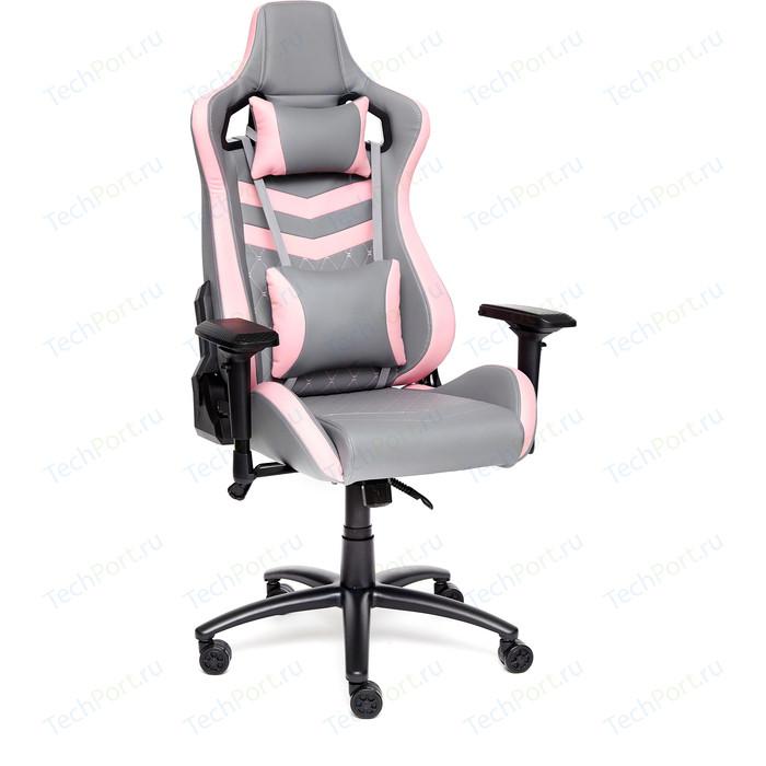 Фото - Кресло TetChair iPinky кож/зам, серый/розовый кресло tetchair iwheel кож зам черный серый