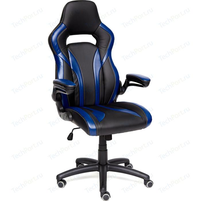 Кресло TetChair Rocket кож/зам, черный/темно-синий