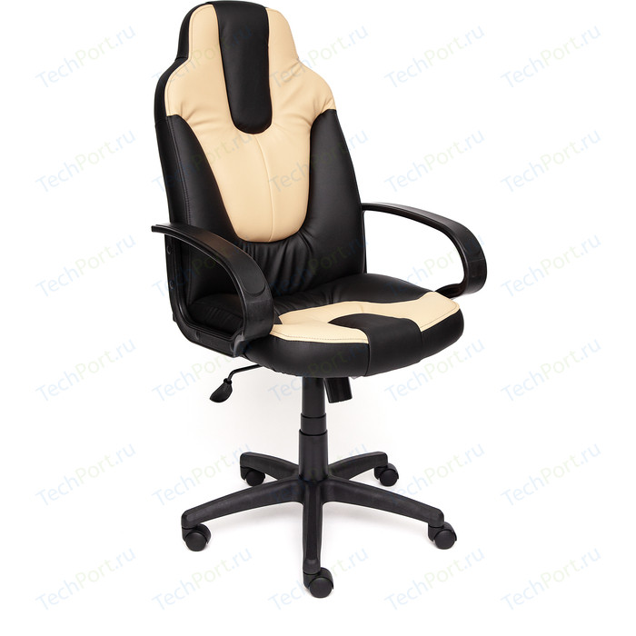Кресло TetChair NEO (1) кож/зам, черный/бежевый, 36-6/36-34