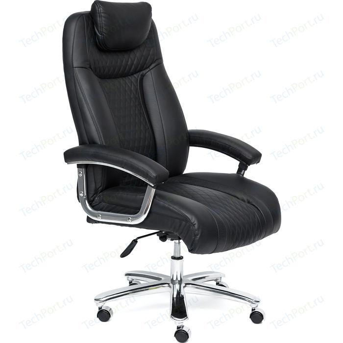 Кресло TetChair TRUST кож/зам, черный, 36-6/36-6/06
