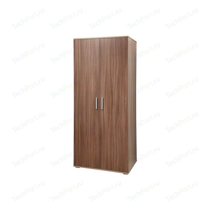 Шкаф для одежды Олимп 06.14 - 02 ясень шимо светлый/ясень шимо темный комод олимп дуэт 3 ясень шимо темный ясень шимо светлый