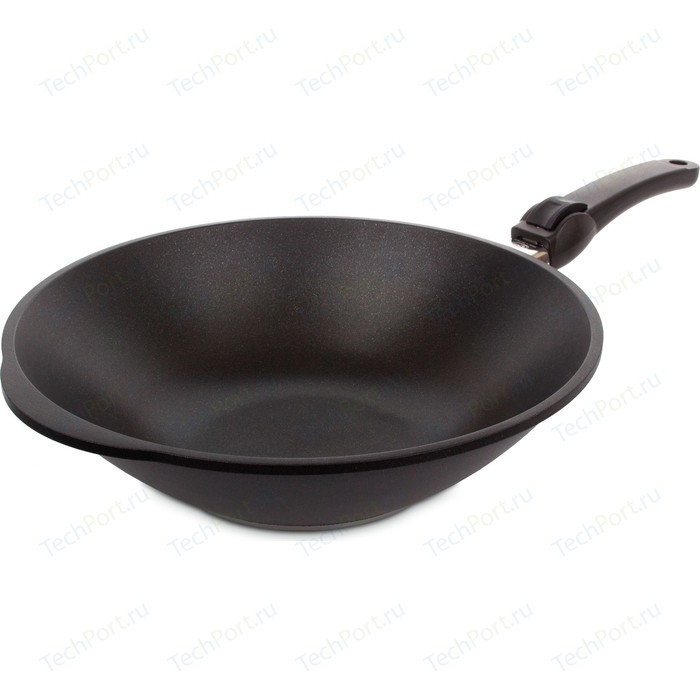 Фото - Сковорода WOK AMT Gastroguss d 32см Frying Pans Titan Induction (AMT I-1132S) amt 9504
