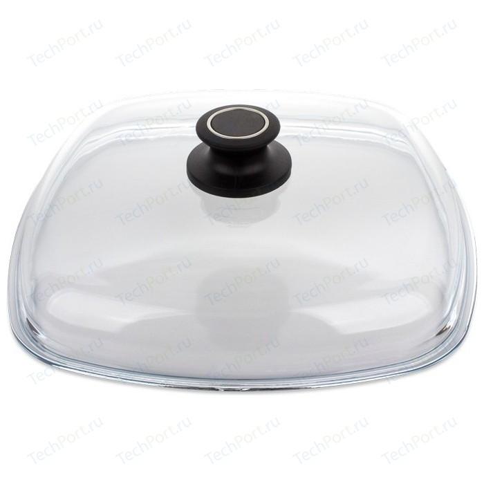 Крышка квадратная 28 см AMT Gastroguss Glass Lids (AMTE28)