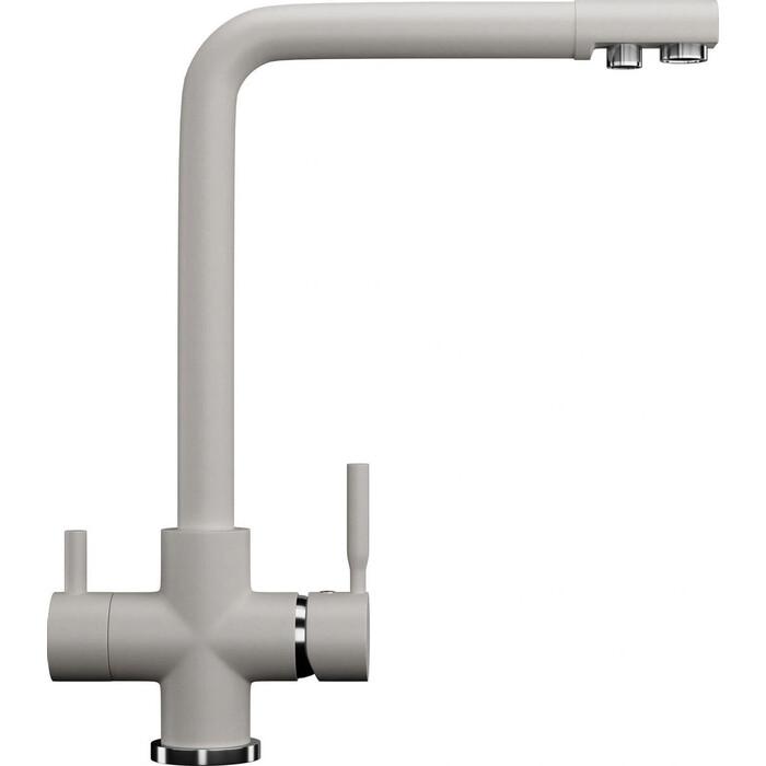 Смеситель для кухни Ulgran U-016 с подключением к фильтру, белый (U-016-331)