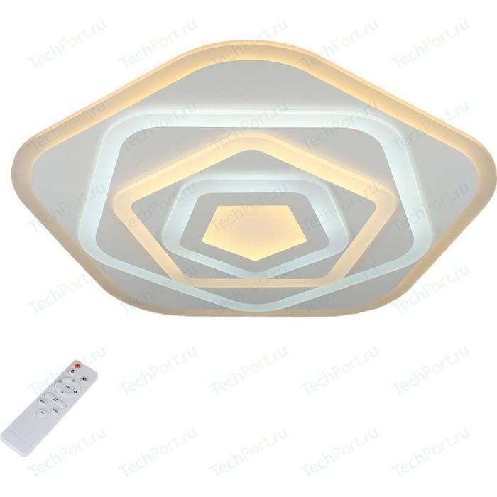 Потолочный светодиодный светильник с пультом Omnilux OML-05407-120 потолочный светодиодный светильник omnilux oml 48807 48