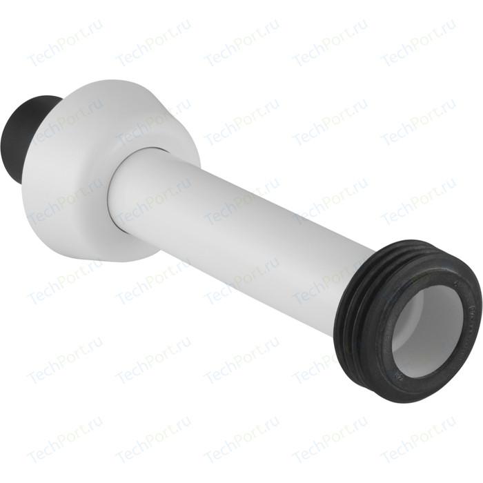 Удлинитель колена смыва Geberit для встраивамого бачка, 25 см, белый (118.026.11.1)