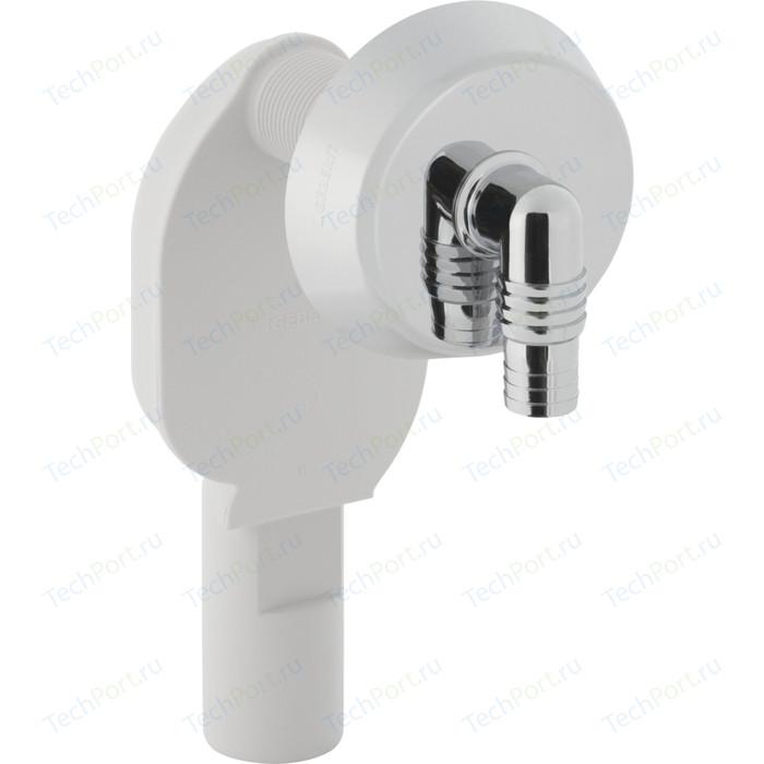 Сифон Geberit для подключения стиральной или посудомоечной машины, хром (152.234.21.1)