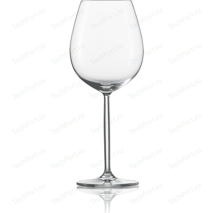 Набор бокалов для красного вина 612 мл 6 шт Schott Zwiesel Diva (104 096-6) набор бокалов для красного вина 612 мл 6 шт schott zwiesel diva 104 096 6