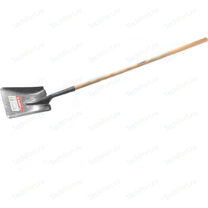 Лопата совковая Зубр Профи-10 деревянный черенок Профессионал (39361z02)