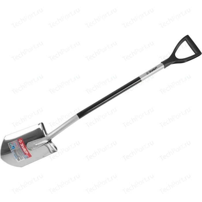 Лопата штыковая Зубр Артель-НС алюминиевый черенок Профессионал (39407z01)