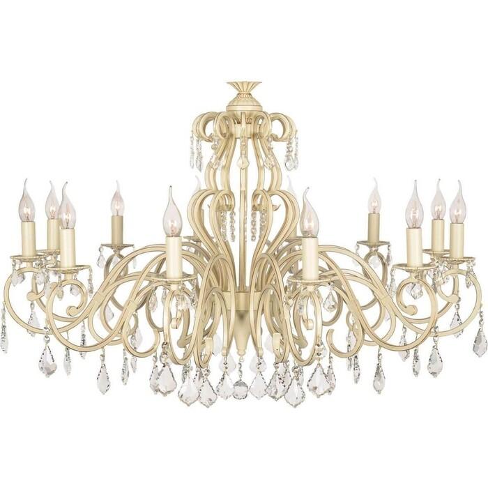 Подвесная люстра Arti Lampadari Gioia E 1.1.12.602 CG настольная лампа arti lampadari gioia e 4 3 602 cg