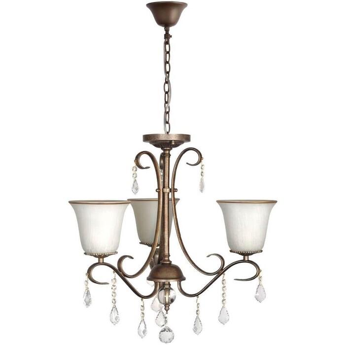 Подвесная люстра Arti Lampadari Borgese E 1.1.3.602 GB светильник настенный shatten 3064 102 01 borgese