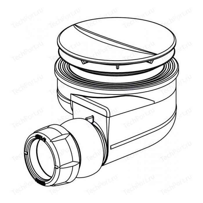 Сифон Jacob Delafon D90 для низких душевых поддонов (E78161-CP)