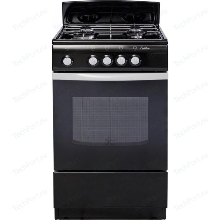 Газовая плита DeLuxe 5040.38 ГЩ черный