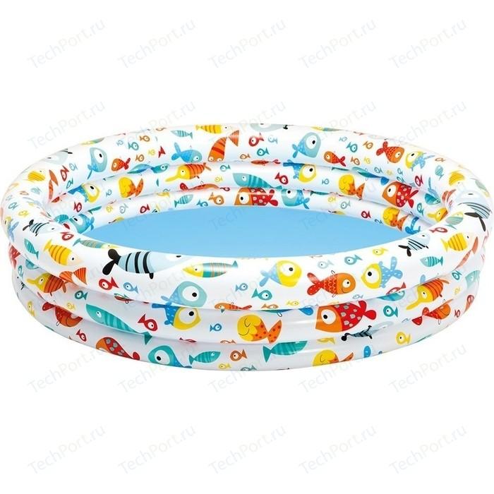 Надувной бассейн Intex 59431 Рыбки (132х28см)