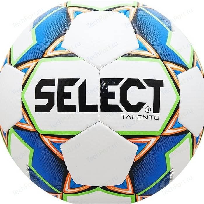 цена Мяч футбольный Select Talento 811008-102 р. 4 онлайн в 2017 году