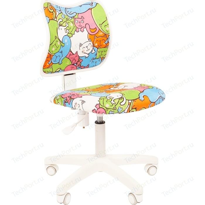 Кресло Chairman Kids 102 ткань котики