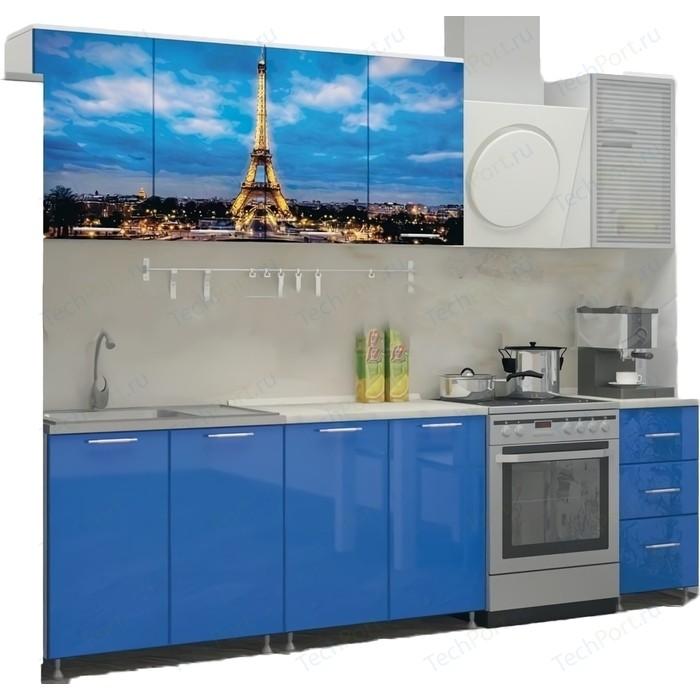 Кухня ПВХ с фотопечатью Миф Париж 2,0