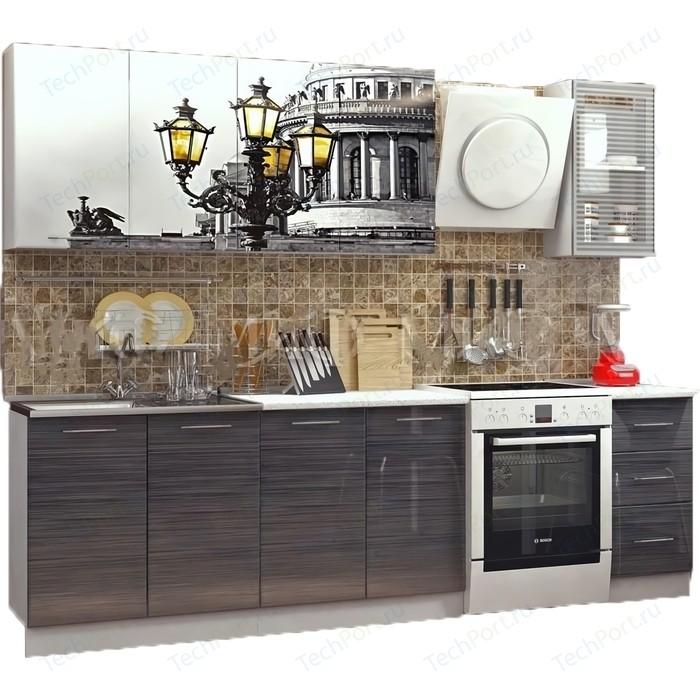 Кухня ПВХ с фотопечатью Миф Питер 2.0