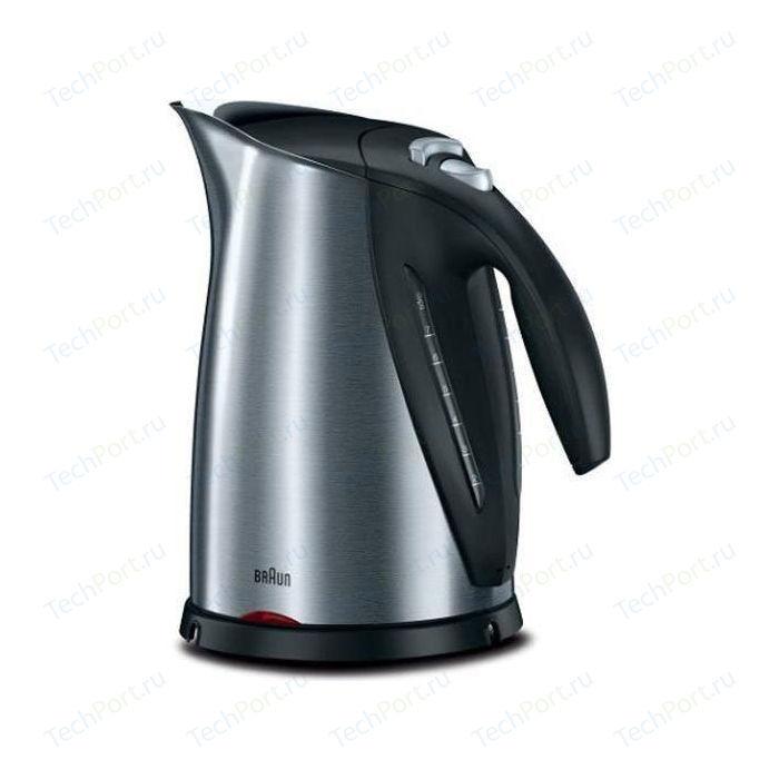 Чайник электрический Braun WK 600 чайник braun wk 600 2200 серебристый 1 7 л нержавеющая сталь
