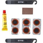 Купить Аптечка для ремонта камер STG YC129A (монтажки, заплатки, клей) купить недорого низкая цена