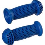 Купить Грипсы STG GR112 (100 мм) синие грибочки (для самоката и вело) купить недорого низкая цена