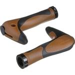 Купить Грипсы STG рога HL-G205 (150 мм) черно-коричневые купить недорого низкая цена