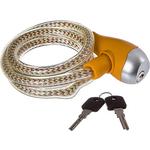 Купить Велосипедный замок STG TY560-1 трос спиральный на ключе (10х100см)технические характеристики фото габариты размеры