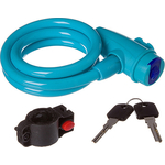 Купить Велосипедный замок STG TY596 трос спиральный на ключе (10х100см)технические характеристики фото габариты размеры
