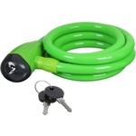 Купить Велосипедный замок трос спиральный с ключом Х66512 (12х150см) купить недорого низкая цена