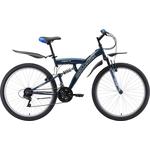 Купить Велосипед Challenger Mission FS 26 синий/белый/голубой 18'' отзывы покупателей специалистов владельцев