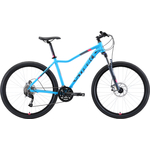 Купить Велосипед Stark 19 Viva 27.4 D голубой/серый/розовый 18''технические характеристики фото габариты размеры