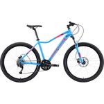 Купить Велосипед Stark 19 Viva 27.4 HD голубой/розовый/белый 18 купить недорого низкая цена