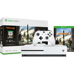 Игровая приставка Microsoft Xbox One S white + игра Tom Clancys The Division 2 (234-00882)