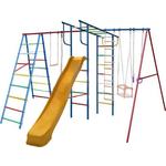 Купить Детский комплекс c качелями Вертикаль Вертикаль-А+П дачный МАКСИ с горкой 3,0 м (2684) купить недорого низкая цена